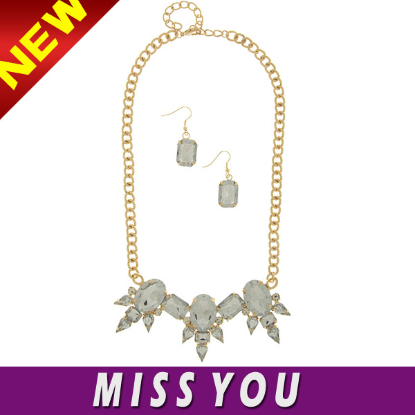 most popular and cheap bombay fashion jewelry with crystal