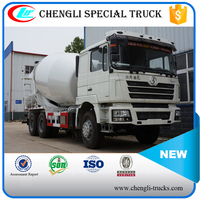 Shacman 6x4 Heavy Dute Mobile Self Loading Cement Mixering Truck Manufacture