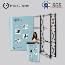 Free standing special offer trade show booth