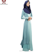 2016 Spring Big Size Long Muslim Casual Dress Stitching Designs For Pakistani Girls, 2016 Fashioin Women Dress Pakistani Dresses