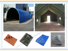 easy to fold plastic eyelets pe tarpaulin form China use for furniture cover, boat cover, truck cover