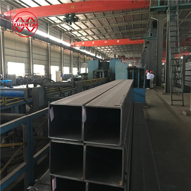 China manufacturer customized section square tube/pipe, square hollow steel pipe/tube