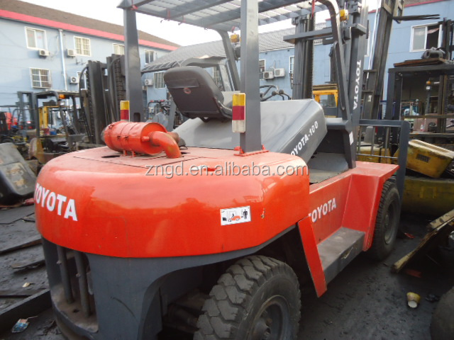 strong reliability resonable price used excellent condition Forklift TOYOTA 10T for cheap sale