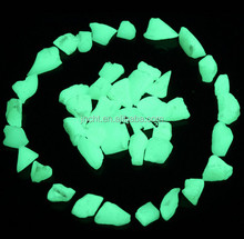 glow in the dark polished stone for road pavement