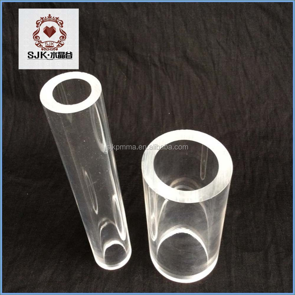 Clear Decorative Plexiglass Tube, Clear Polycarbonate Pipe