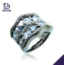 Hot Jewelry Sterling Silver Uncut Diamond Rings Design