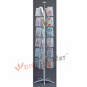 literature or card Display with 48 Holders