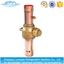 China Brass Refrigeration Ball Valves For Cold Storage Pipes