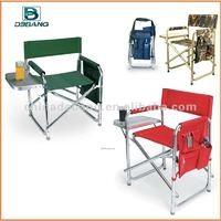 Folding director chair with table and side bag DB1022TB