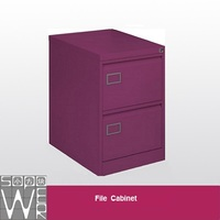 half size lowes smart mini 2-drawer purple file cabinet