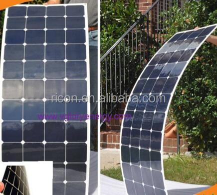 150W 12v flexible thin film solar panel china made rolling bending solar panel