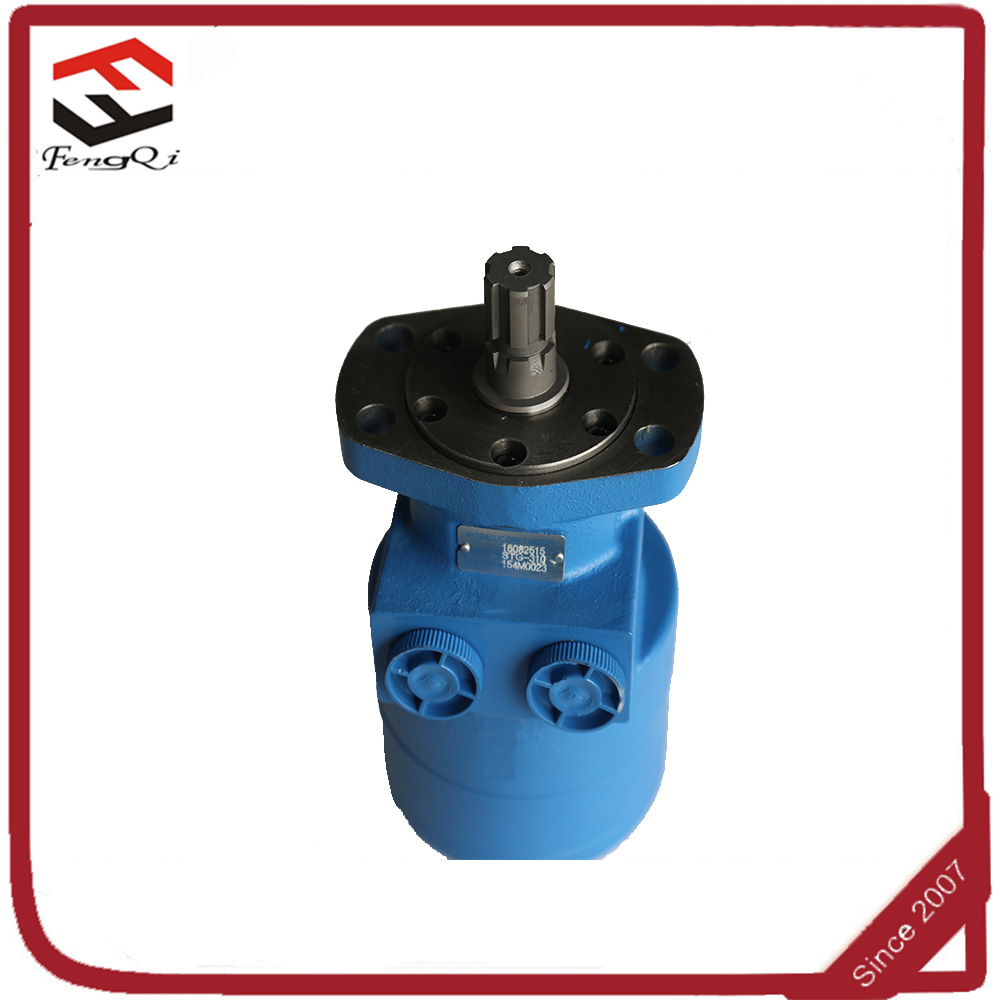 China orbit motor hydraulic cycloid motor for injection molding machine