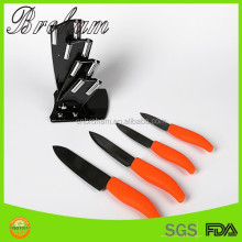 Ceramic knife set black Ceramic Blade ABS Handle Professional Kitchen Knife set ceramic chef knife