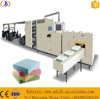 Servo Motor Controlling Fixed Length Type A4 Paper Cutting and Packaging Machine in Line