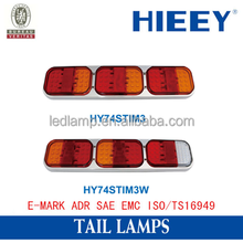 rear tail light LED tail light truck tail lamp with e-mark approval LED stop light auto lamp