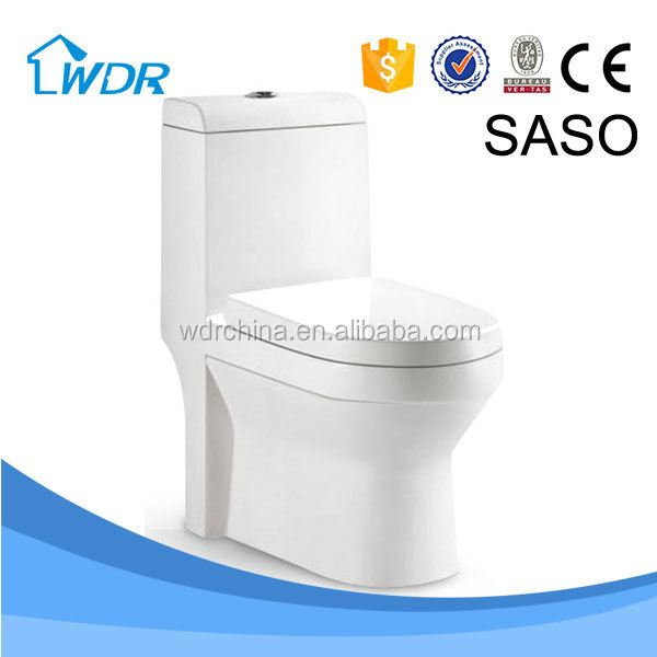 Wall mounted sanitaryware one piece toilet bathroom china
