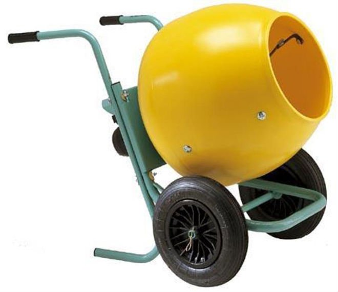 Imer Wheelman II (POLY DRUM) 5 Cubic Foot Gas