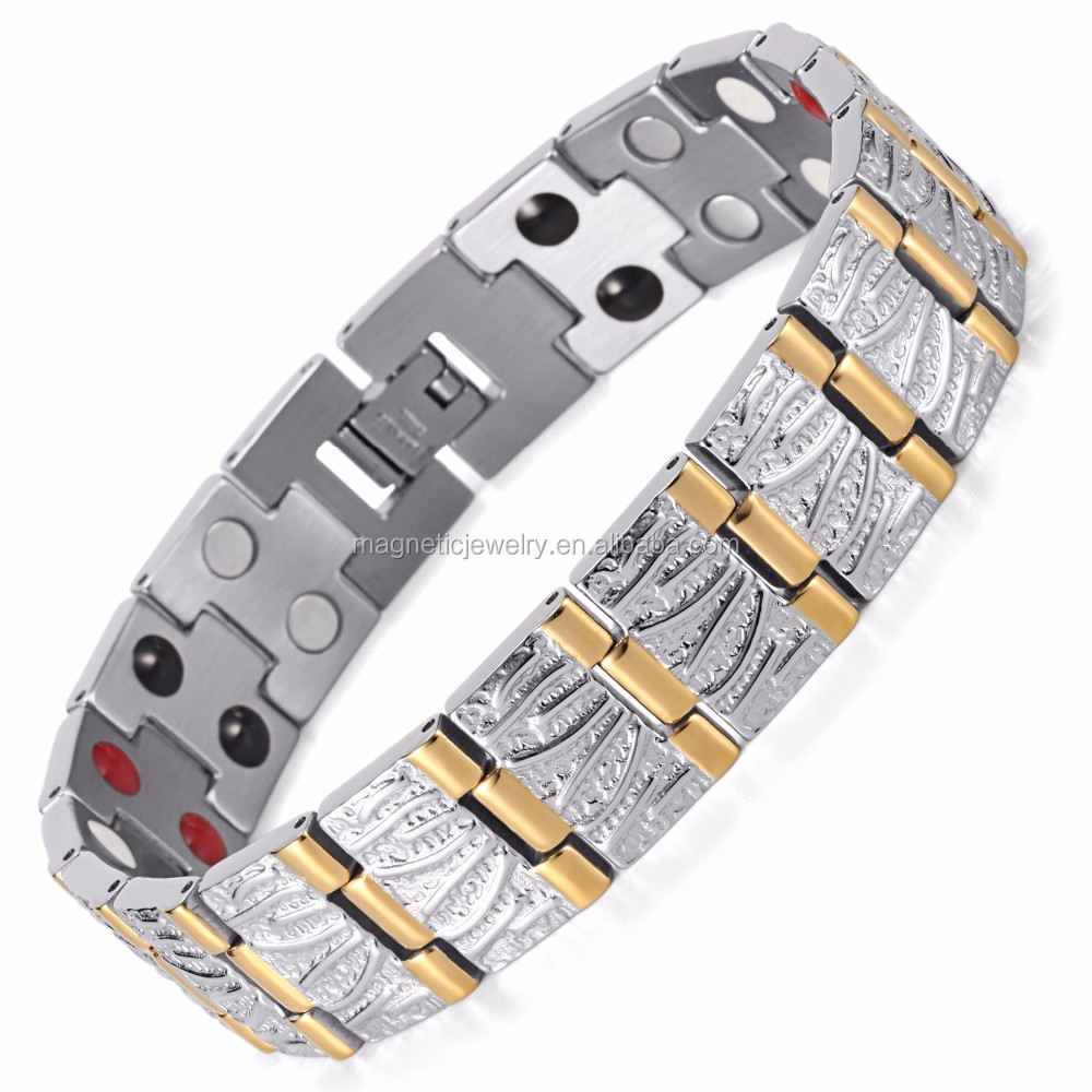 4 IN 1 Health Elements Positive Quantum Men Bio Energy Bracelet