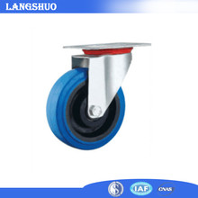 China Supplier Nylon Rubber Casters 4 Caster Wheels