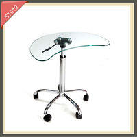 led bar side table ceramic end table glass corner table ST019