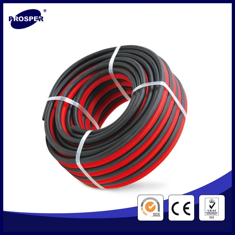 double layer flexible pvc twin welding hose pipe
