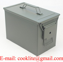 M2A1 50 Cal Standard Sealed Ammo Box Ammo Can Military Box