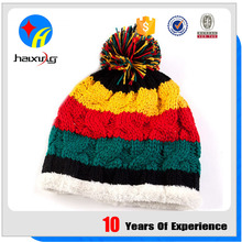 Customized Winter Beanie Hats Knit Women Knitted Hat