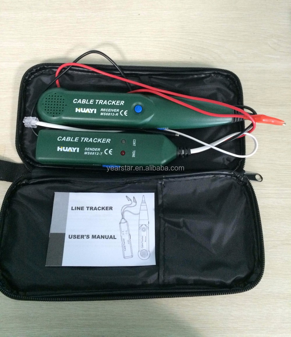 MS6812 network cable tester & wire tracker/hotsale wholesale product/china supplier
