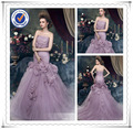 Ladies backless mermaid party wear gown formal evening gown