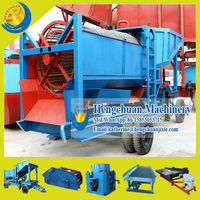 Qingzhou Hengchuan Dismountable Portable Fine Gold Recovery Equipment for Sale