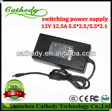 specilizing of 150w 12v 12.5a non-waterproof ac dc electric recliner power supply with HS code