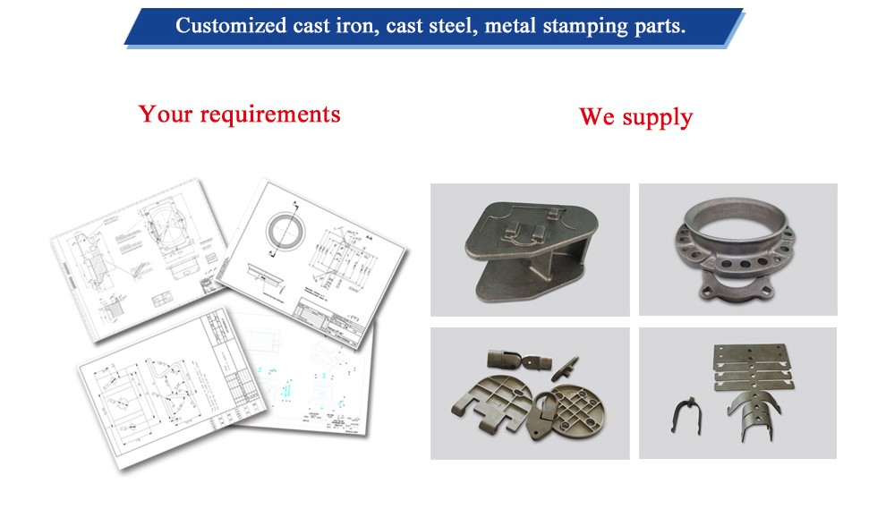 OEM high quality precision lost wax investment casting