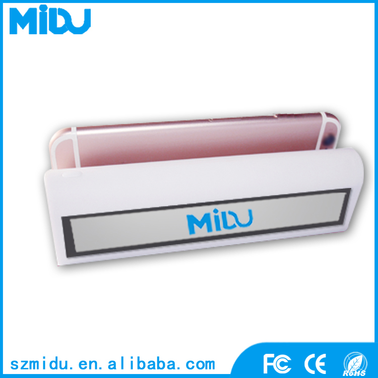 MIDU M-B20 2017 New Wireless Bluetooth Speaker Power Bank 4000mAh Portable Suction Cup Power Bank with integrated Speaker