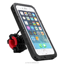 2017 New product phone bike mount waterproof case for iPhone 7 Plus