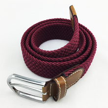 China Belt Making Supplies Elastic Braided Stretch Belt