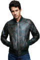 Customise Men Genuine Bomber Leather Jacket