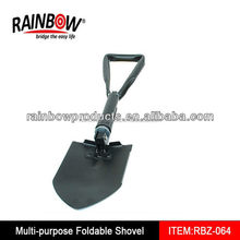 camping tools RBZ-064 gardening folding shovels foldable spade factory
