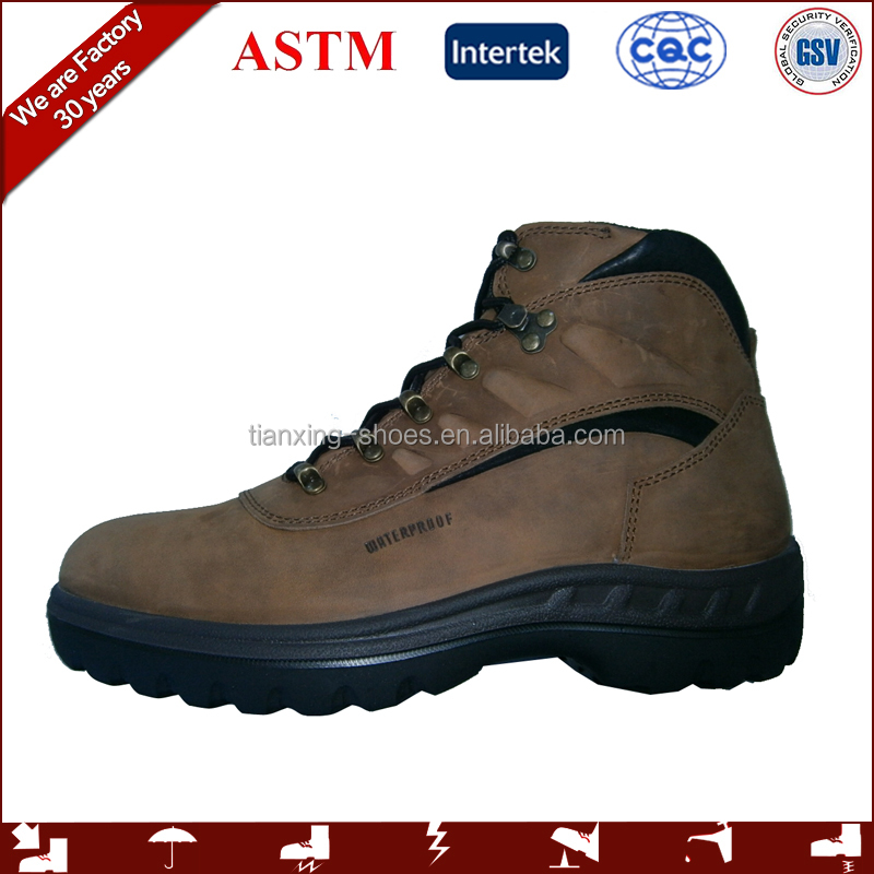 2016 new design quality safety shoes and safety shoes price with TPU outsole