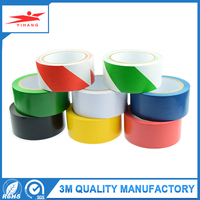 Newest Quality Best Double Color Floor PVC Warning Caution Marking Waterproof Safety Underground Tape