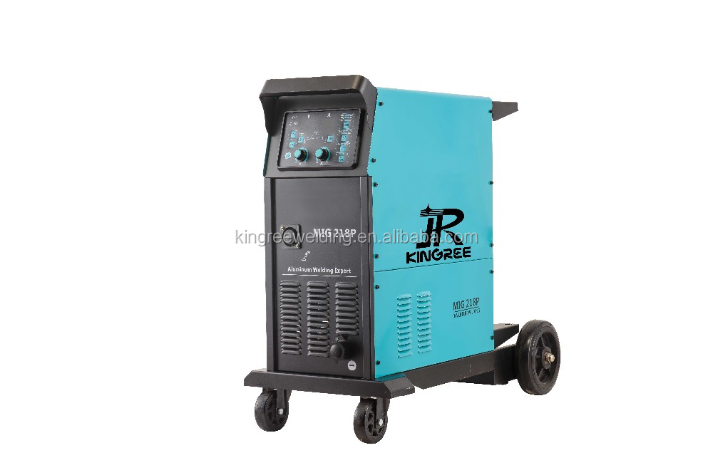Inverter IGBT Pulse Aluminum MIG Welding Machine MIG218PE Double Pulse Single Pulse New Design