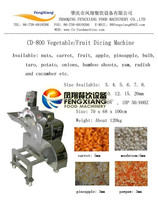 CD-800 vegetable cutter, fruit dicing machine for cubes, well-made cumquat cutter Mob/whatsapp:+86 18281862307 (May Liao)