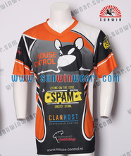 Wholesale Dry Fit Men's dry fit gaming shirt