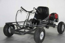 go kart manual transmission with 9 inches Pneumatic Tires GC4303