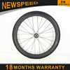 High stiffness carbon fiber wheels 23X45/60mm powerway R36 ceramic+ sapim spokes china carbon wheelset 700c