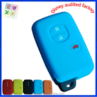 2014 popular silicone car alarm remote control shell for Toyota made in China