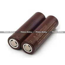 Brown lg battery 18650 hg2 35amps 3000mah LG HG218650 35A rechargeable battery for vaping