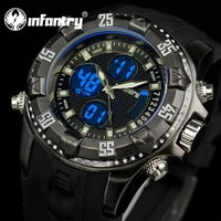 INFANTRY Men's Sport Casual Chronograph Vogue Military Watch