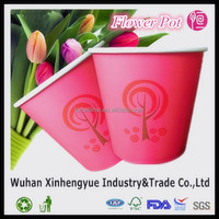 High Quality Custom Logo Printed Disposable Paper Cups For Planting