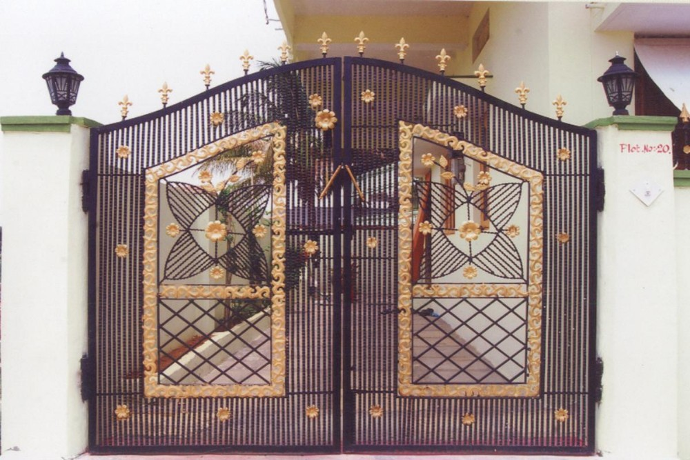 Perfect Indian Beautiful Modern House Entrance Main Iron Gate Designs   Buy House  Main Gate Designs,Indian Beautiful House Entrance Main Gates,Modern House  Entrance ... Part 8