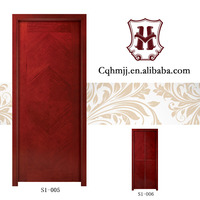 Red Simple main door or house front doors, exterior or interior